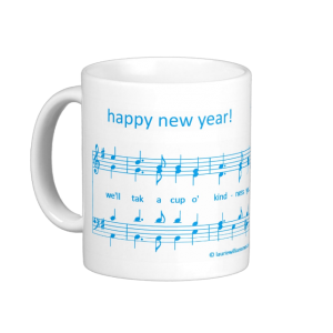 Laurie Williams Music Happy New Year mug